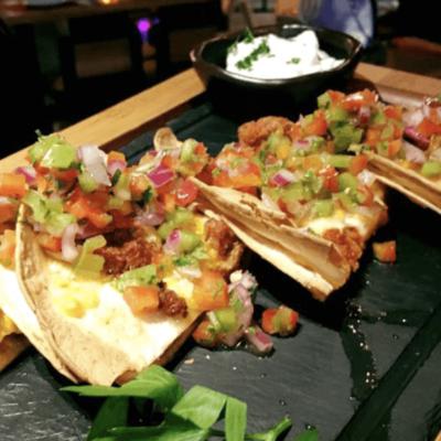Tacos de solomillo ibérico