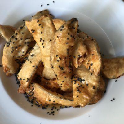 Vegetales en tempura