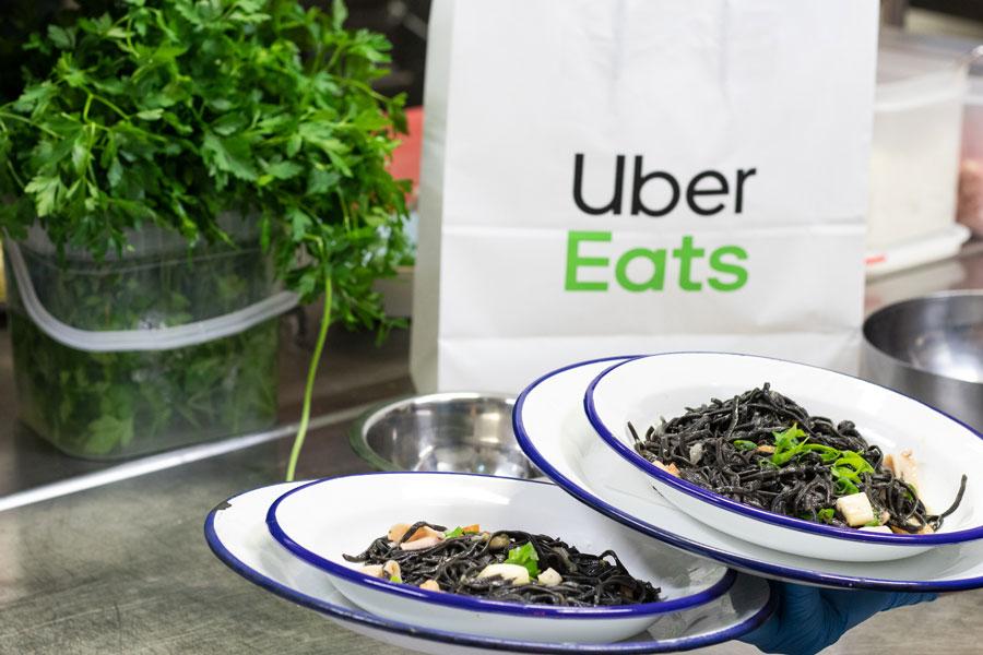 Bolsa Uber Eats